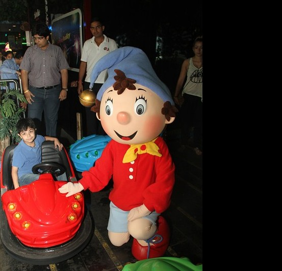 Noddy with Hang Out's Bumper Cars