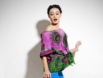 Model In Sonia Jeteeley outfit