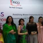 FLO Members with Raveena Tandon